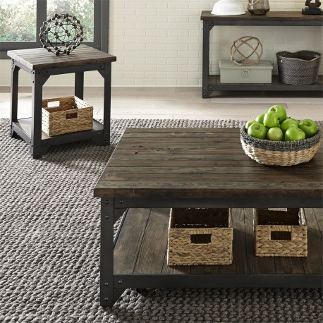 Caldwell 3 Piece Set (1-Cocktail 2-End Tables)