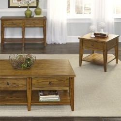 Lake House 3 Piece Set (1-Cocktail 2-End Tables)