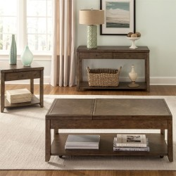 Mitchell 3 Piece Set (1-Cocktail 2-End Tables)
