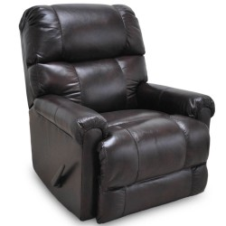 Captain Leather Rocker Recliner