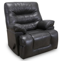 The Boss Leather Rocker Recliner