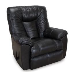 The Connery Leather Rocker Recliner