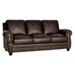 The Solomon Leather Sofa Collection