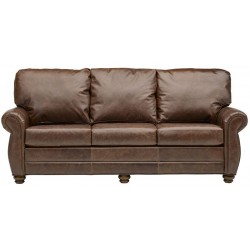 The Tuscany Leather Sofa Collection