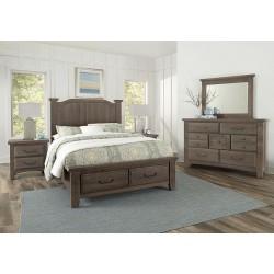 Sawmill Bedroom (Saddle Grey)