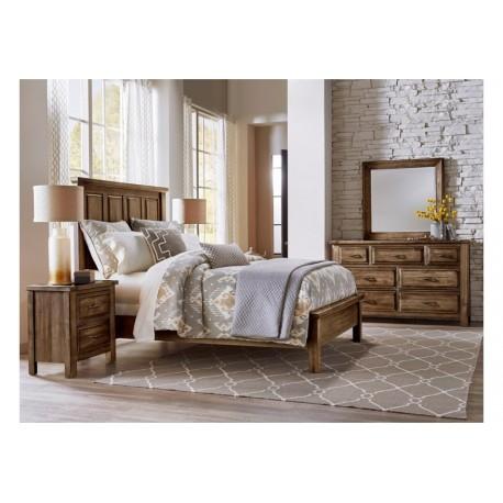 Maple Road Bedroom w/ Slat Bed (Amish Finish)