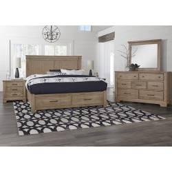 Cool Rustic Bedroom  (Natural)