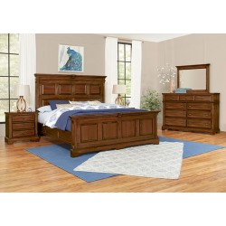 Heritage Bedroom  (Cobblestone Oak)