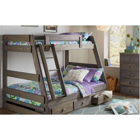 Twin Over Full A Frame Bunk Bed (209)