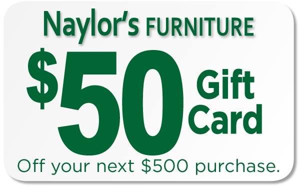 Naylor's $50 Gift Card
